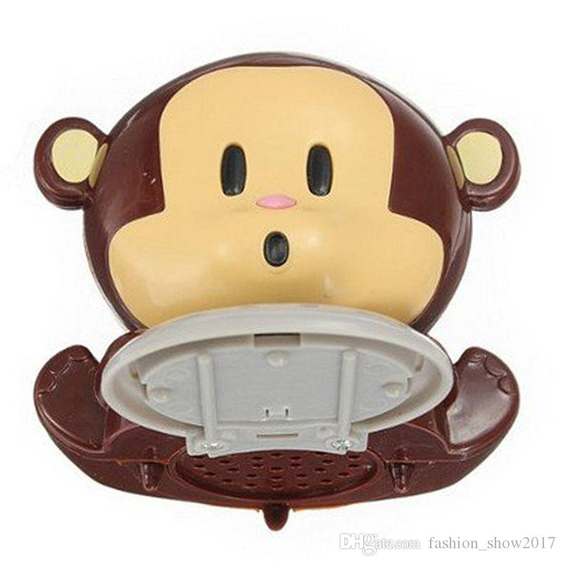 Newest Little Cute Monkey Nail Dryer Tools Blowing the Monkey Nail Creative Utility Drier Nail Polish