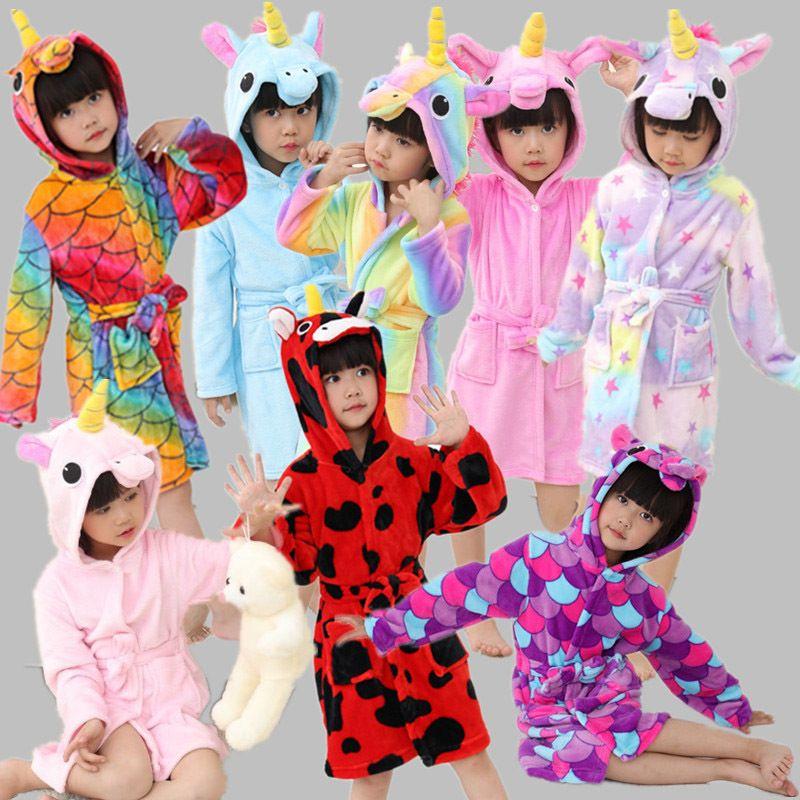 d5cf437a30 Compre Franela Animal De Dibujos Animados Pijama Onesie Cálido Animal Niños  Niñas Niños Leopardo Niños Ropa De Dormir Onesies Para 4 6 8 10 12 Años ...