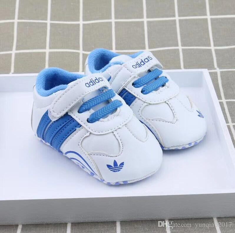 Fashion PU leather Baby Moccasins Newborn Baby Shoes For Kids Sneakers Toddler infant Crib Shoes Boy Girl First Walkers