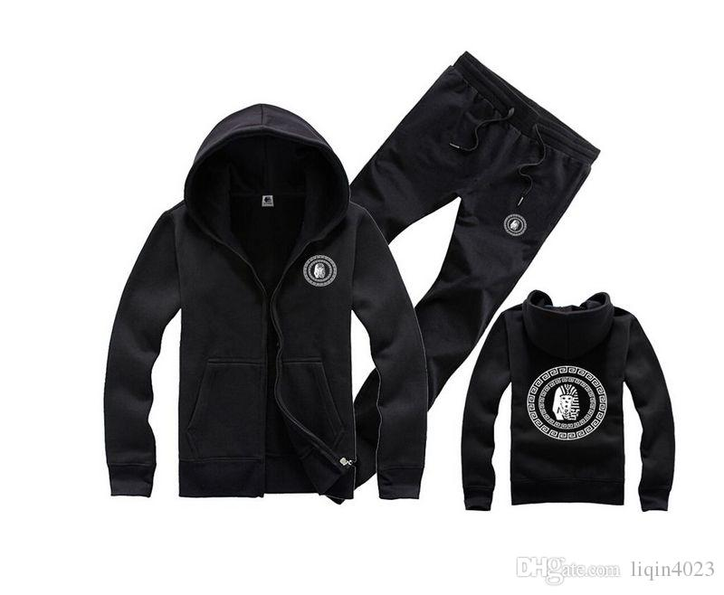 streetwear mens camicie moda primavera nero rosso S-3XL inverno uomo abbigliamento sportivo pullover felpa tyga ultimi re felpe