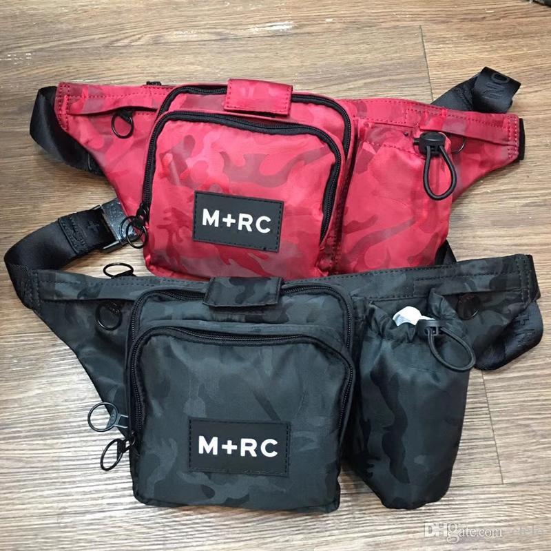fb7ef421e07 2019 2019 Brand New M+RC NOIR RR Waistbag Cross Body Waist Bag Pack Chest  Pack Unisex Fanny Pack Waist Bag Men Canvas Waterproof Messenger Bags From  Clelo