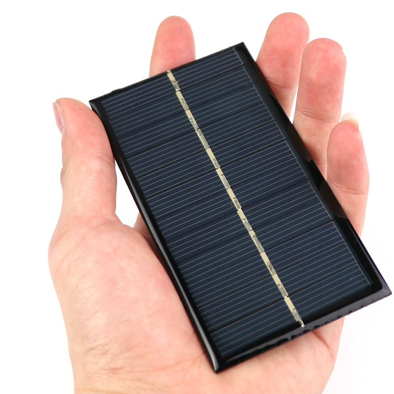 Integrated Circuits Mini 6v 1w Solar Panel Bank Solar Power Panel Module Diy Power For Light Battery Cell Phone Toy Chargers Portable