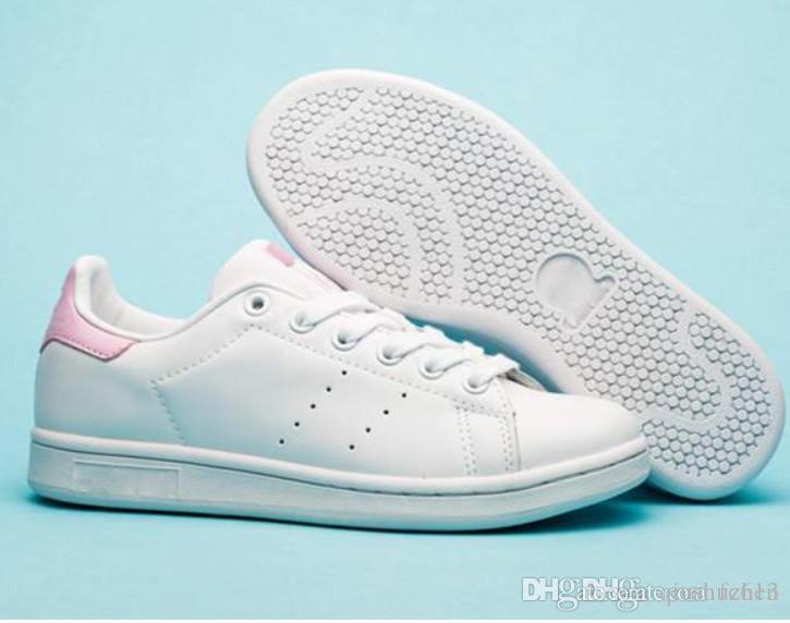 on sale 506e8 ad455 2018 new superstar stan smith Men Women all White black red green super  star stansmith casual shoes top quality Athletic zapatos