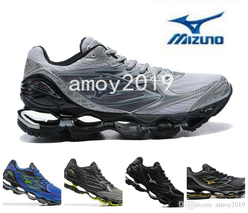 dae4d685c0ef 2018 New Arrive Authentic MIZUNO WAVE PROPHECY 6 Men Designer Sports  Running Shoes Sneakers Mizunos 6s Casual Mens Trainers Size 40 45 Running  Accessories ...