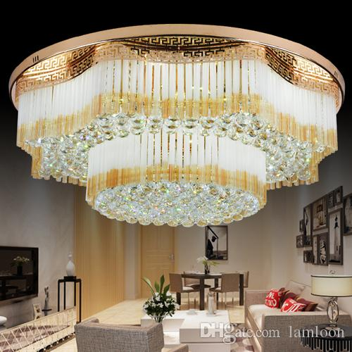 New design royal led crystal round rectangle chandeliers light k9 new design royal led crystal round rectangle chandeliers light k9 crystal pendant chandelier ceiling lamp hotel villa project chandelier french chandelier aloadofball Image collections