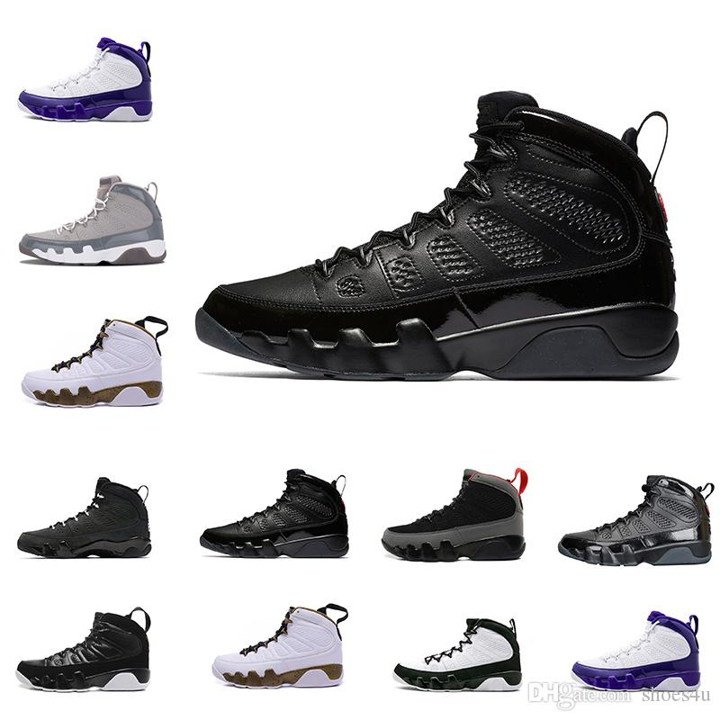 6cc19c91105112 2018 Cheap New 9 9s Oreo Mens Basketball Shoes Space Jam The Spirit Tour  Blue Cool Grey Sports Sneakers Sport Outdoor Designer Shoes US 8-13 Online  with ...