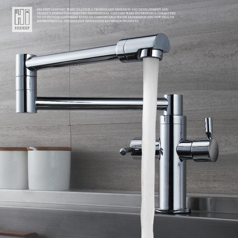 Acquista hideep rubinetti da cucina pieghevole 360 - Rubinetto cucina pieghevole ...