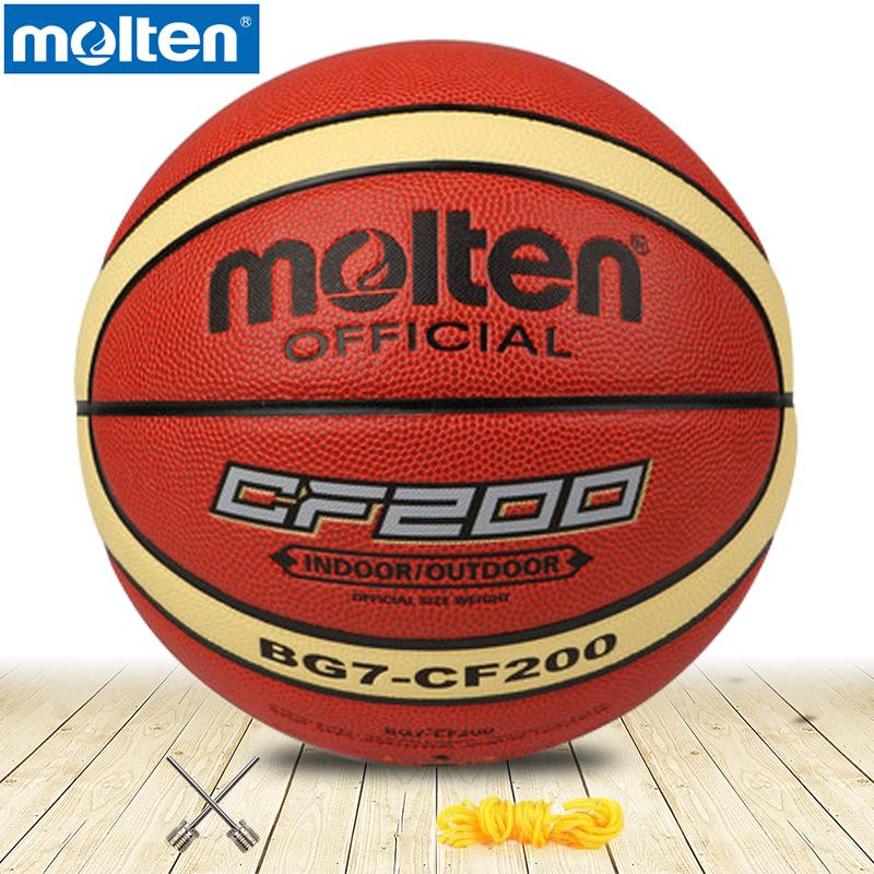 f8fa2a404b393 Acheter Balle De Basket Ball Fondu D'origine BG7 CF200 Matériau De Qualité  PU Fondu Véritable De Qualité7 Basket Ball Gratuit Avec Sac Net + Aiguille  De ...