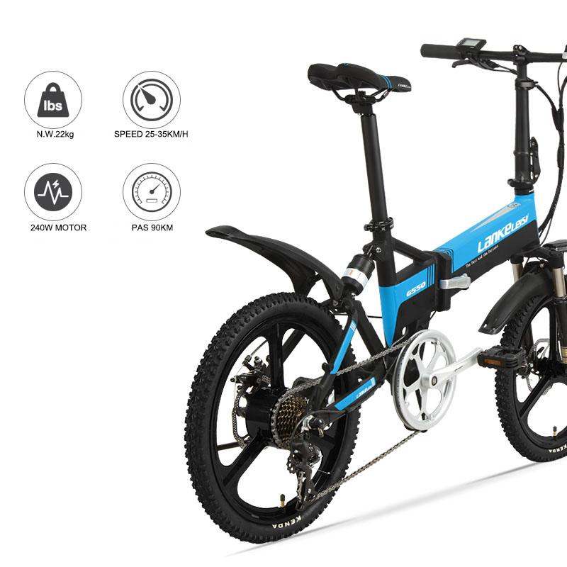20inch Electric Mountain Bicycle Fold Frame 48V240W Motor ...
