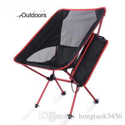 Sedie Da Campeggio Pieghevoli.Acquista Sedie Da Campeggio Pieghevoli All Aperto Luce Portatile In
