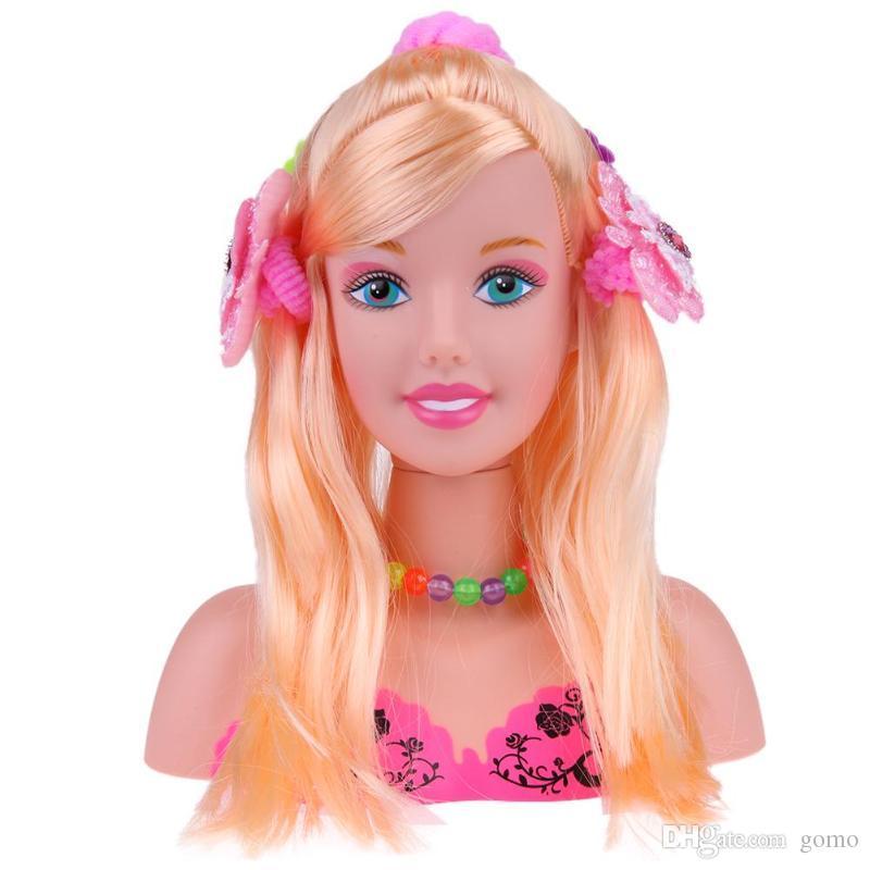 Halbe Korper Make Up Frisur Puppe Friseur Kopf Mode Puppen Schaufensterpuppe Kopf Madchen Tauschen Spiel Spielzeug Geschenk