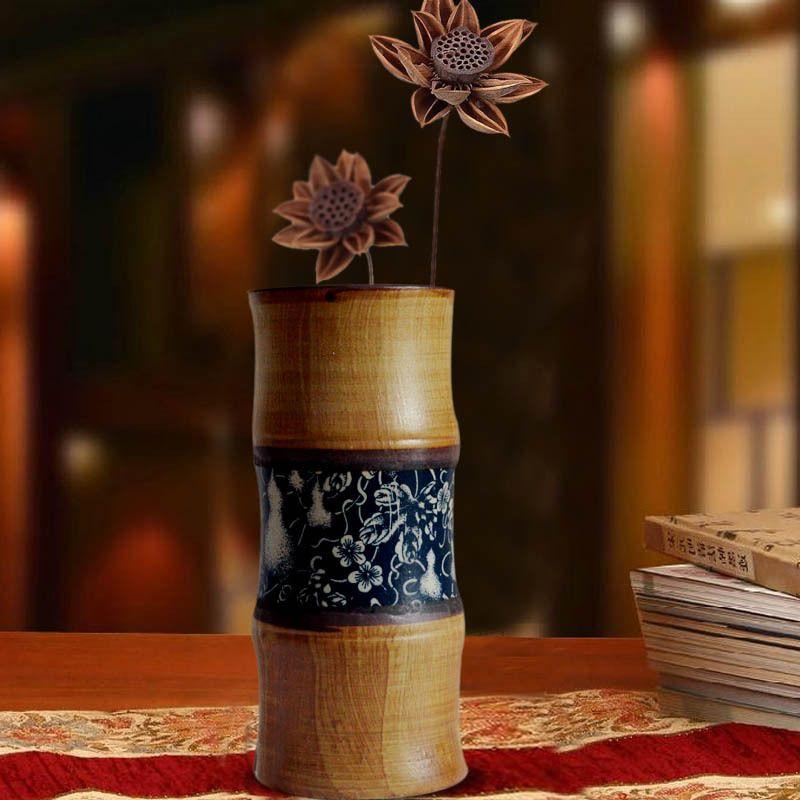 Handmade Stoneware Black Pottery Terracotta Retro Pottery Clay