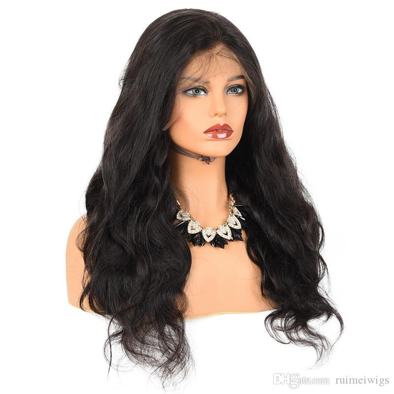 Brazilian Virgin Remy Hair Wigs Front Lace