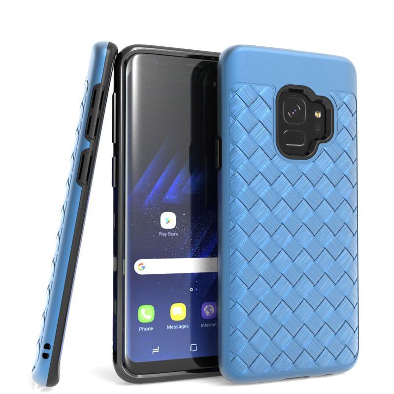 Iphone için X 6 6 artı Motorola MOTO E4 E4 ARTı TPU + PC 2 in 1 Darbeye Defender Zırh Örgü Kapak Yeni tasarım vaka