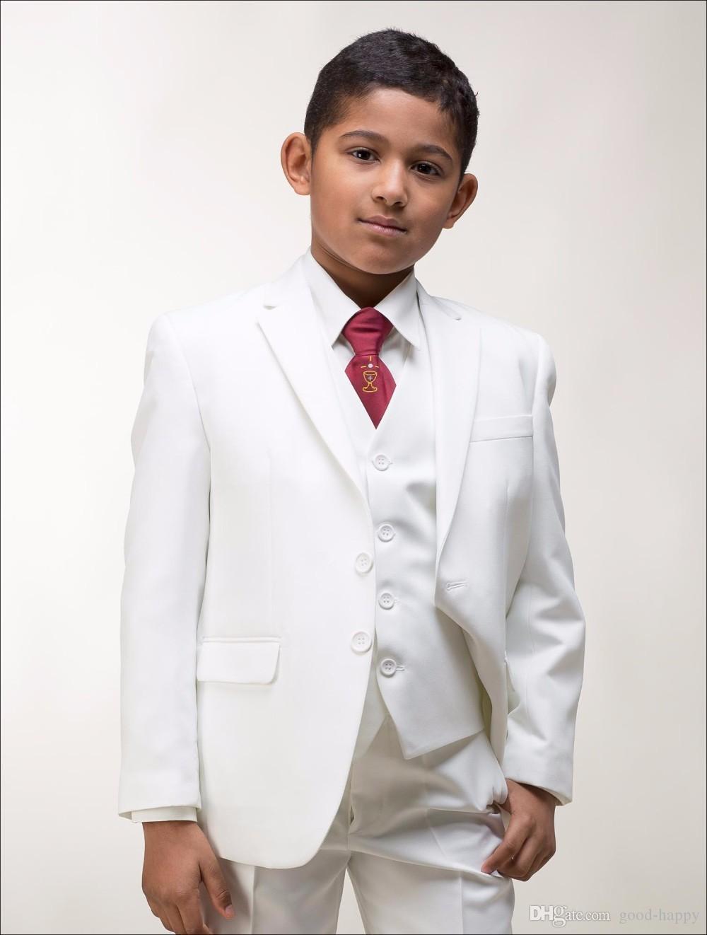 Großhandel New Fashion White Boy Formelle Kleidung Hübscher Junge ...