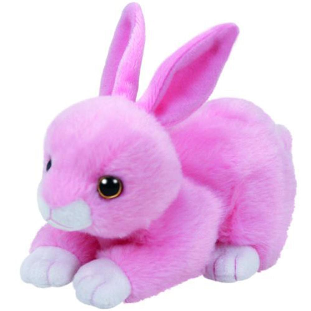 2019 Pyoopeo Ty Beanie Babies 6 15cm Walker Pink Bunny Plush Regular