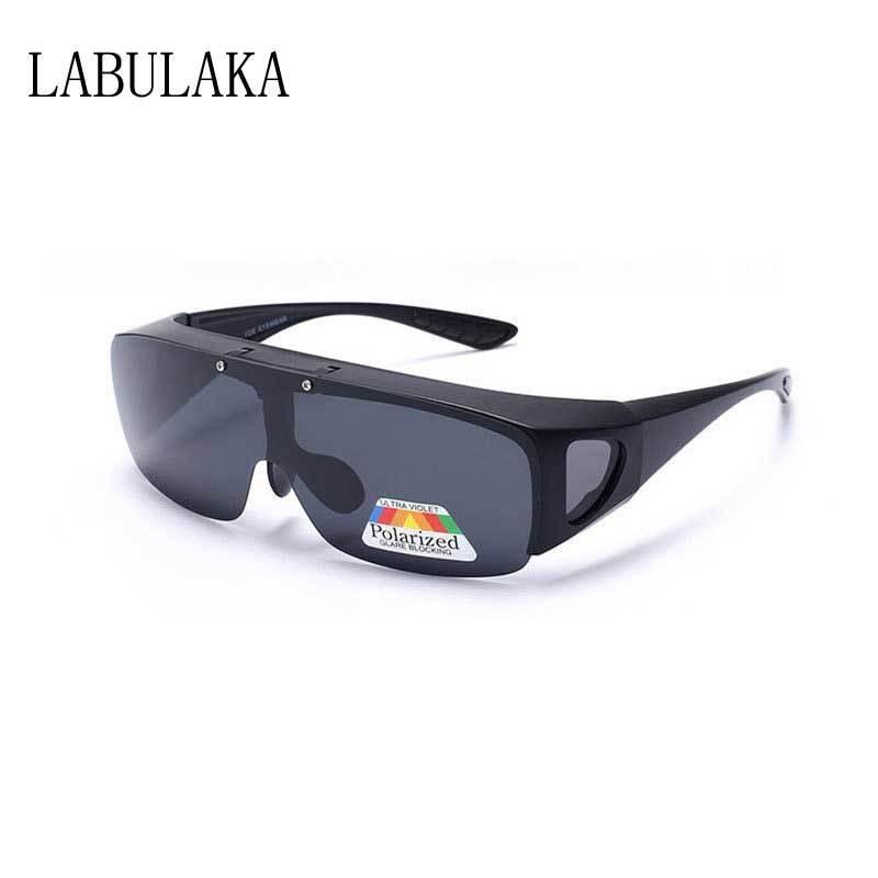 5d24361920 Compre Flip Up Gafas De Sol Hombre Clip Polarizado En Gafas De Sol  Amarillas Gafas De Conducción Nocturna Unisex Deportes Al Aire Libre Gafas  UV400 Lentes ...