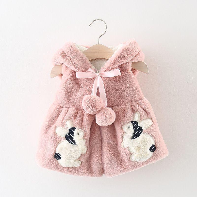 b220c9a57a2b Baby Winter Coats Vest Infant Clothing 2018 Fall Winter Kids ...