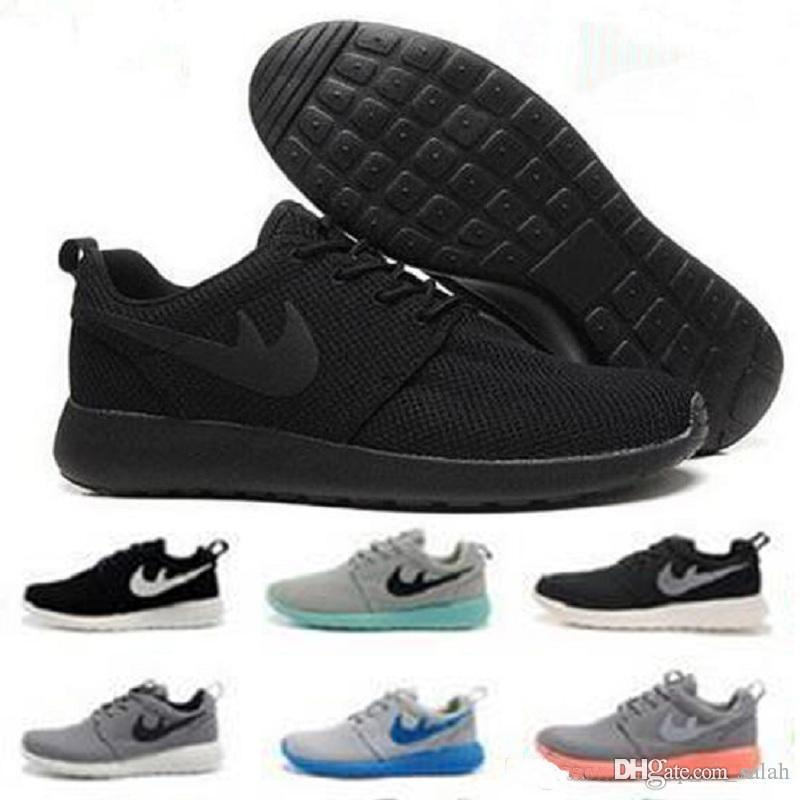 new styles 63fbc 4ce10 Acheter Nike Roshe Run 2018 Mode Nouveau Style Londres Olympique 3.0  Chaussures De Course Hommes Femmes Léger Respirant Sports Sneakers Discount  Us 5.5 10 ...