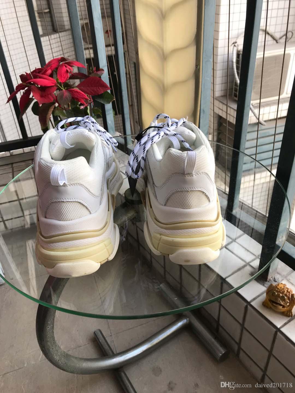 El nuevo estilo de lujo clásico europeo, zapatos para hombres y mujeres, cuero puro, malla, seis capas de suelas, zapatos viejos, multicolor opcional.