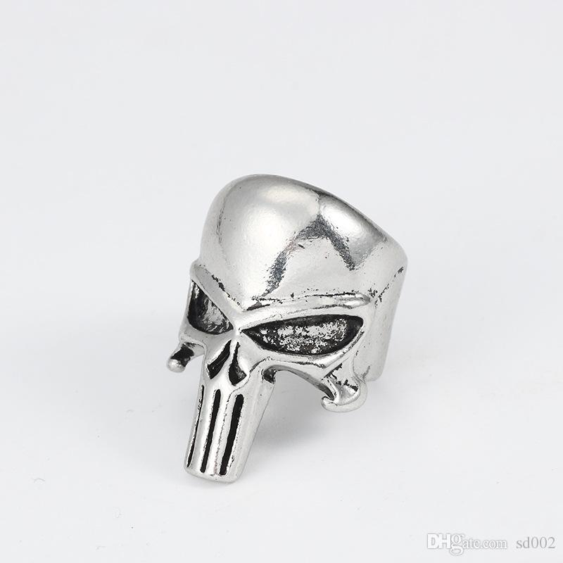Men Skull Ring Woman Punk Unqiue Jewelry Cool Stainless Steel Arts Crafts Gifts Clothing Accessories Fashion 2 8sz bb