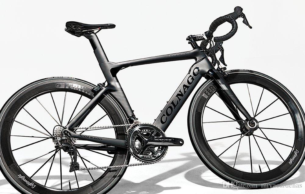 Karbon Komple Yol Bisikleti Gümrükleme DIY Bisiklet ile Ultegra Groupset EYER KABLOLAR PEDAL colnago BOB Satış
