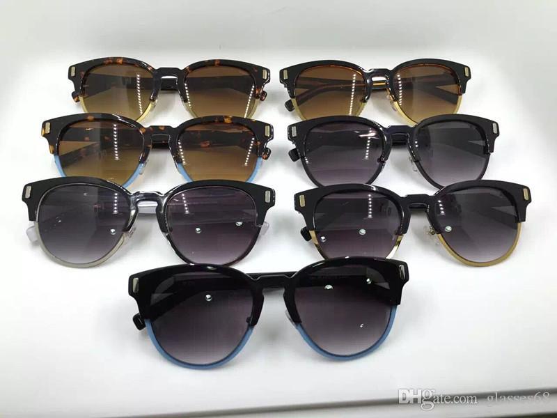9c583856c44 Free Ship Fashion Luxury Brand Quality Sunglasses Vintage Men Brand Designer  Black Sunglasses Men Frame UV400. Shop prescription glasses online.