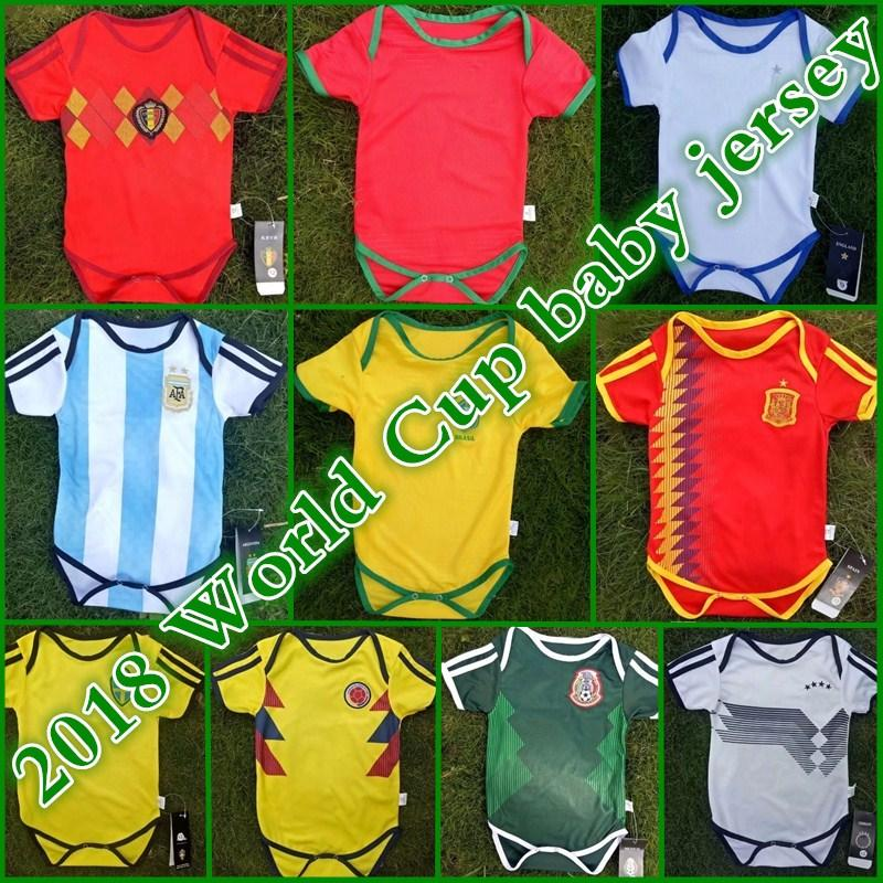 d30bac88b 2019 Spain Baby Soccer Jerseys Argentina Kids Football Uniform 2018 World  Cup National Team Mexico Belgium Children Football Shirt From  Whatsapp861860310148 ...