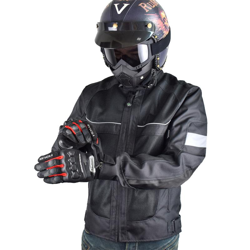 2019 2018 Brand New Lyschy Summer Motorcycle Jacket Men Riding