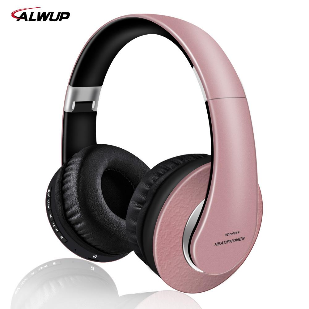 2b7707b875b AlWUP High Quality Wireless Bluetooth Headphones For Girls Support Radio  Mp3 Player With Microphone 12 Hours Music Time For Pc Headphones For Tv  Noise ...