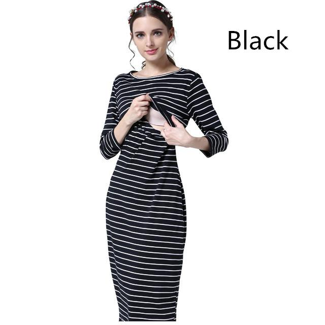 b2ee3f357fd 2019 Emotion Moms Party Maternity Clothes Maternity Dresses Pregnancy  Clothes For Pregnant Women Nursing Dress Breastfeeding Dresses From Roohua