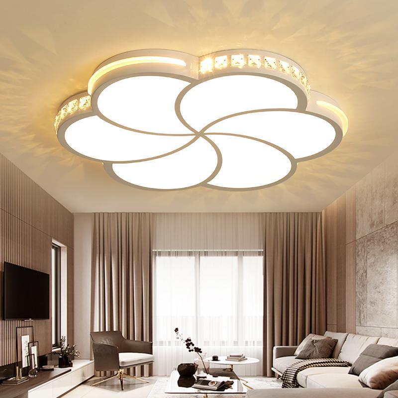 Großhandel Moderne Led Kronleuchter Für Wohnzimmer Schlafzimmer Esszimmer  Acryl Indoor Hause Glanz Führte Kronleuchter Lampe Leuchten Von Samanthe,  ...