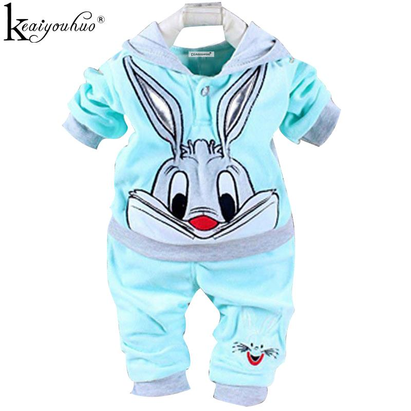 ae8c5e91a KEAIYOUHUO Spring 2018 Baby Girl Clothes Cartoon Infant T-shirt+ ...