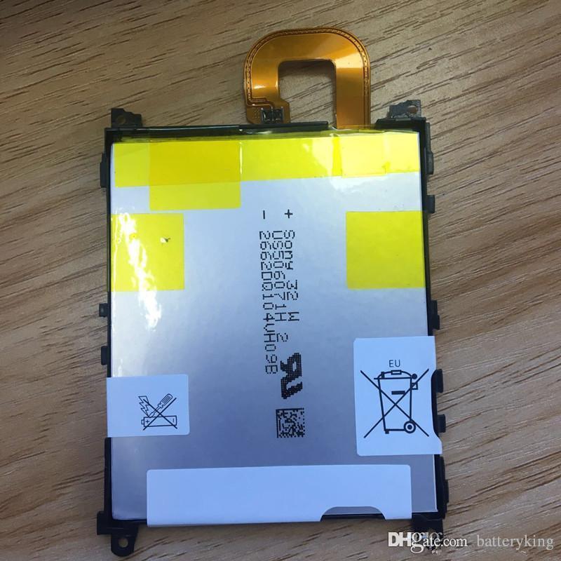 Batería interna de repuesto de buena calidad LIS1525ERPC para Sony L39h Xperia Z1 Honami SO-01F C6902 C6903 C6906 Batería para teléfono 3000mAh