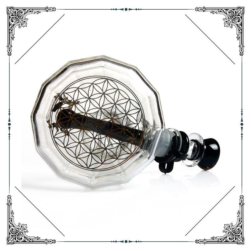 2018 Nuevo fénix Diamantes de cristal beaker bottom bong 10