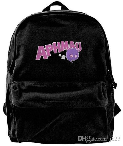Aphmau Gaming Canvas Shoulder Backpack Best Graphic Hiking Backpack ... ebaa7fc784