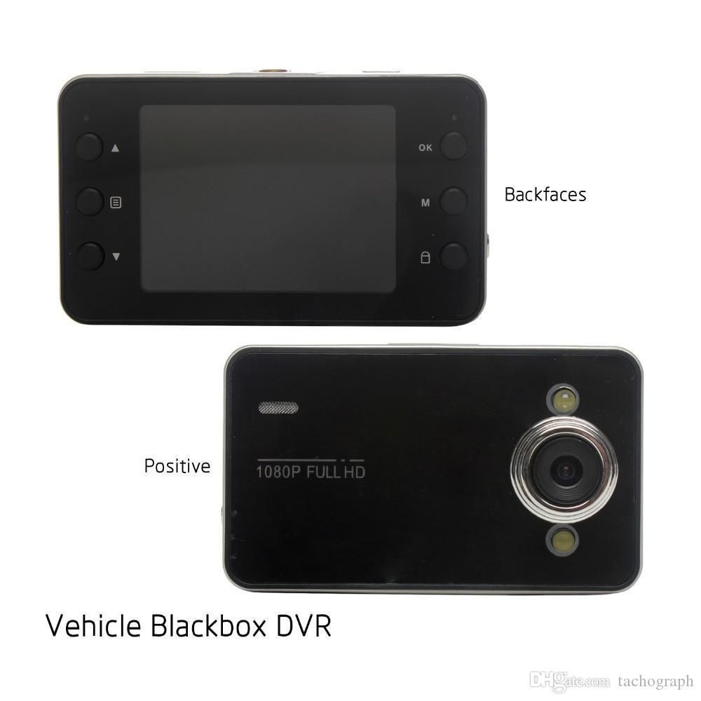 Видеорегистратор K6000 1080P Full HD LED Ночной видеорегистратор Приборная панель Видение Вейкулярная камера Камера Carcam Видеорегистратор Автомобильный видеорегистратор