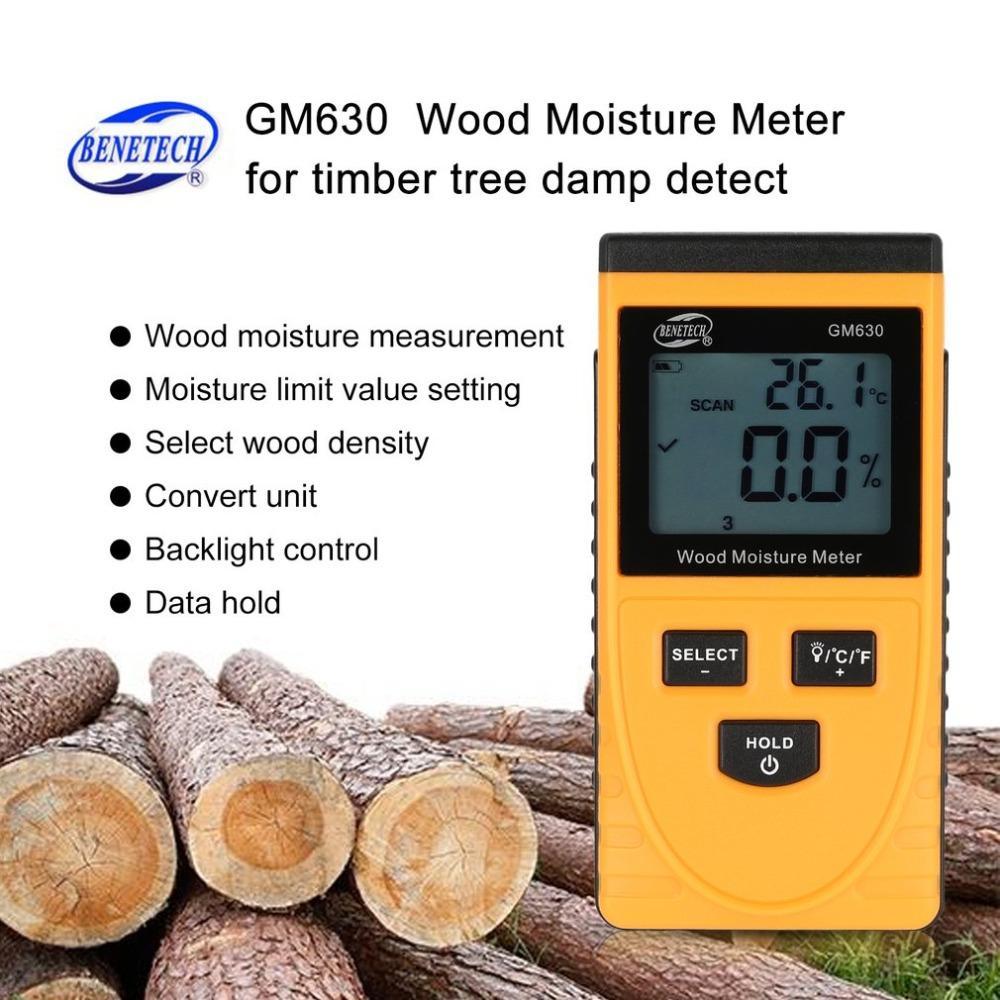 Werkzeuge 0-99.9% Digital Holz Feuchtigkeit Meter Holz Feuchtigkeit Tester Baum Damp Detector Feuchtigkeit Tester Messung Und Analyse Instrumente