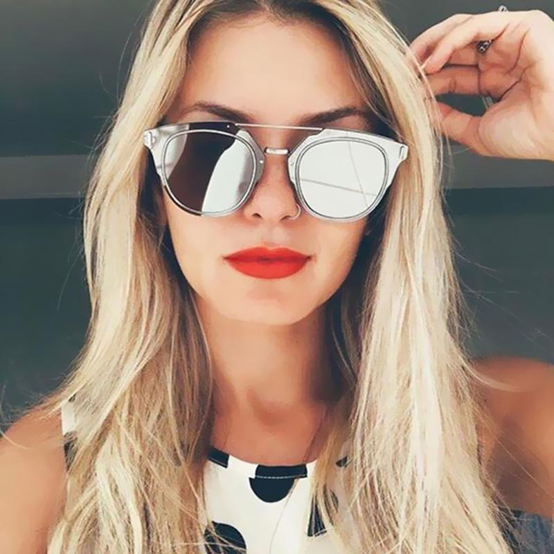 b1ef2f0e9d VictoryLip Classic Hot Fashion Flat Lens Sunglasses Women Or Men Brand  Designer Cool Men Lady Celebrity Sun Glasses Female Mens Sunglasses Police  Sunglasses ...
