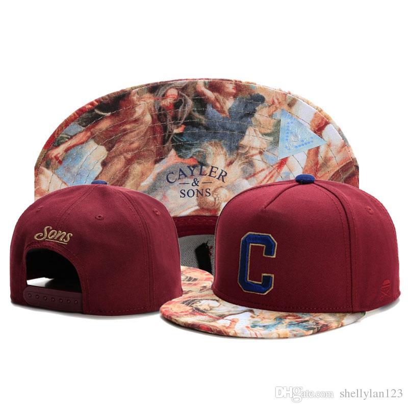 2019 STYLE 2 CAYLER   SONS Letter C Hot Baseball Snapback Adjustable  Fashion Casua Sun Hats Men Women Snapbacks Adult Sport Ball Caps Hat From  Shellylan123 7070d1a4bf86
