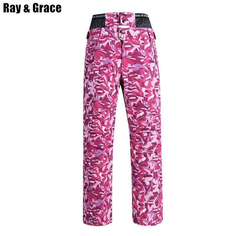 fc305771cf1 RAY GRACE High Quality Professional Snow Pants For Women Winter ...