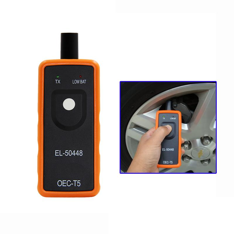 Herramienta de la activación del sensor EL50448 TPMS del monitor de la presión del neumático del coche de LONGFENG para GM / Opel / Ford