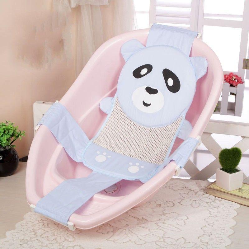 2018 Cartoon Panda Adjustable Newborn Baby Bath Chair Seat Non Slip ...