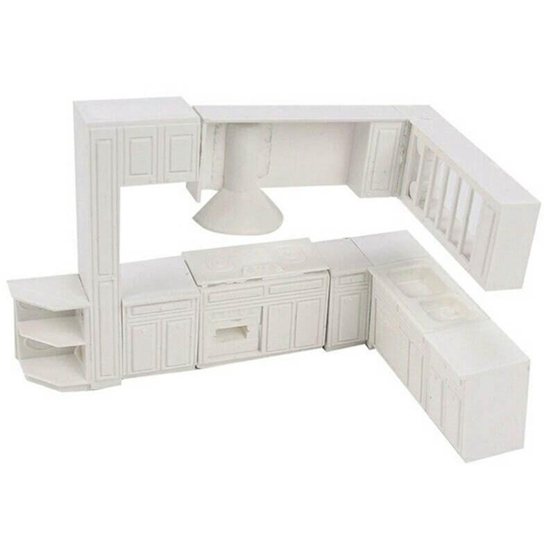 Doll House Or Inner Scenery Model Miniature Toy House Cabinet Kitchen  Furniture Molds Home Decor Kit For DIY Projects Dollhouses Miniatures Dolls  House Kits ...