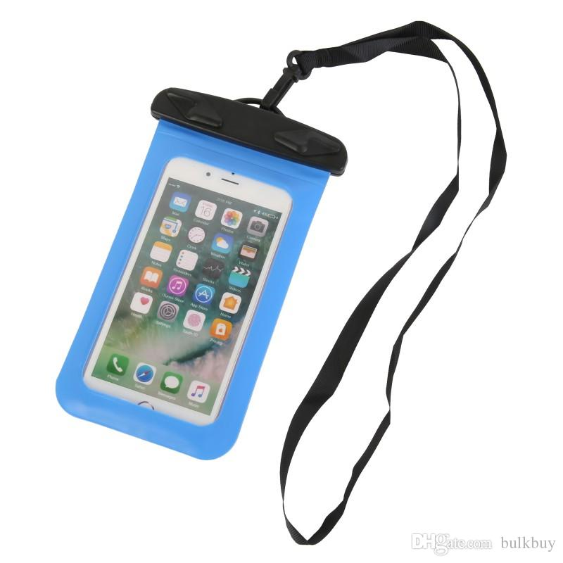 Waterproof Multi-style Valve Type Mini SwimmingWaterproof M Bag For Smartphone Touch Screen Bag Phone Care Phone Container