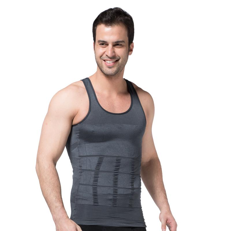 5dd489df75ebc2 2019 Men Shaper Vest Slimming Body Shaper Waist Cincher Tummy ...