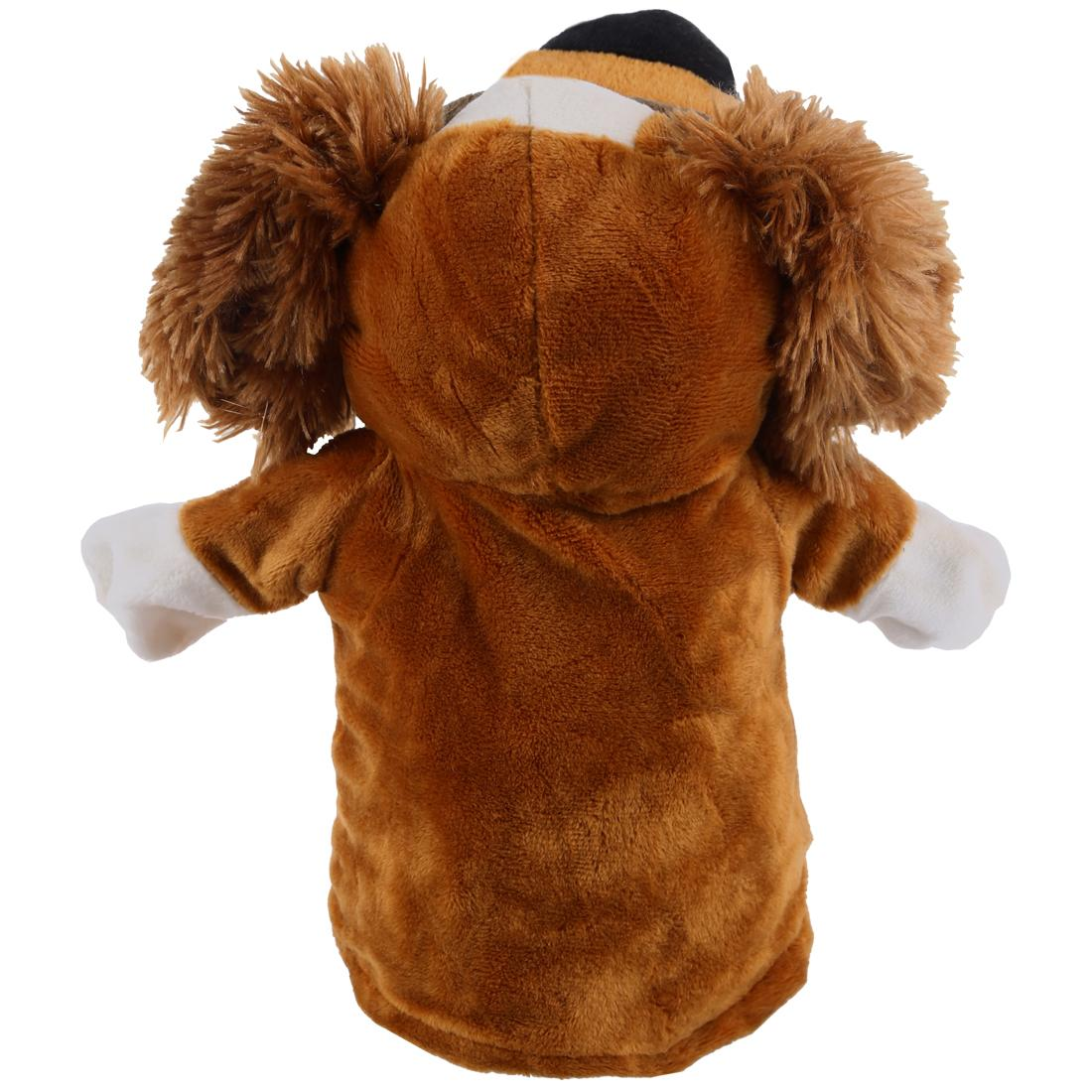 Cute Plush Velour Animals Hand Baby Chic Designs Kid Child Learning Aid Toy Baby Educational Doll Puppets