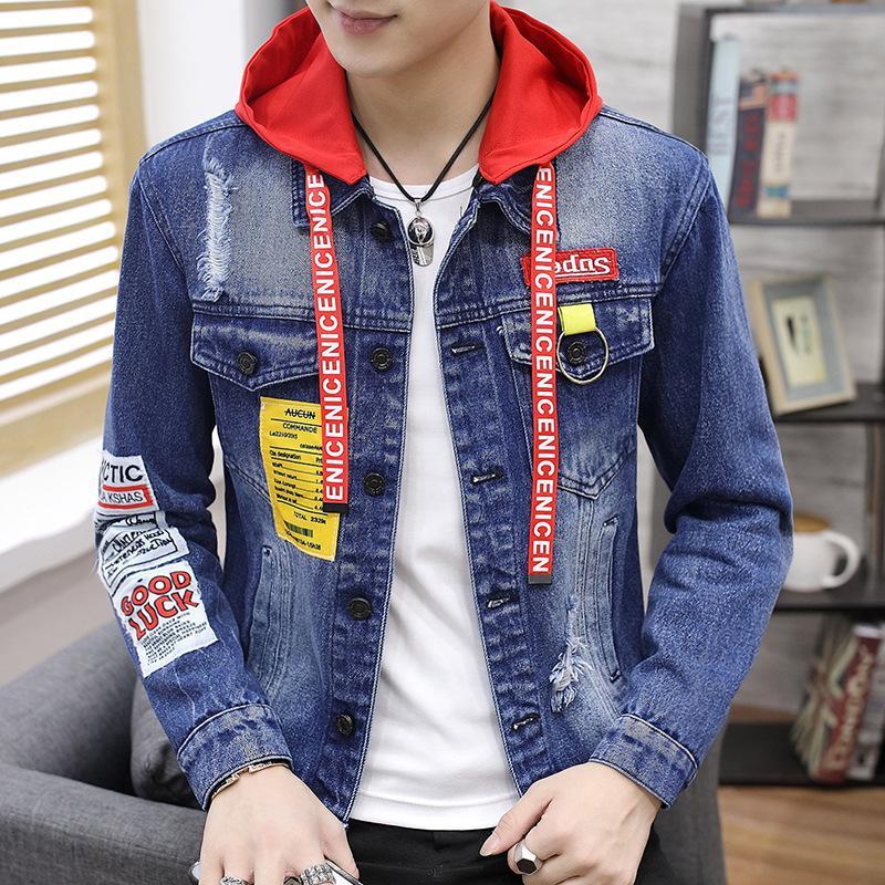 Acquista Giacche Da Uomo Maschile Coreano Stile Primavera E Autunno Vestiti  Slim E Cappotto Alla Moda Giacche Di Alta Qualità A  68.74 Dal Hostest  8f138f824fe0