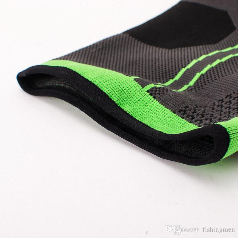 3D weaving elastic nylon strap ankle support brace badminton basketball football taekwondo fitness heel protector gym equipment