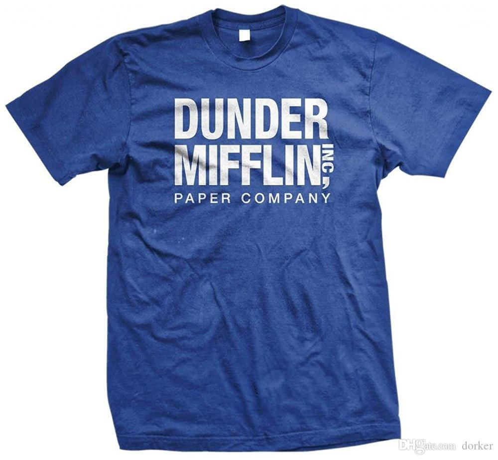 d12049b7 Tee Shirt Hipster Brand Clothing T Shirt Dunder Mifflin Paper Inc T Shirt,  The Office T Shirts, TV Show T Shirts 2018 Best T Sh Printed T Shirt Funny T  ...